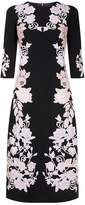 Dolce & Gabbana Floral Embroidered Midi Dress