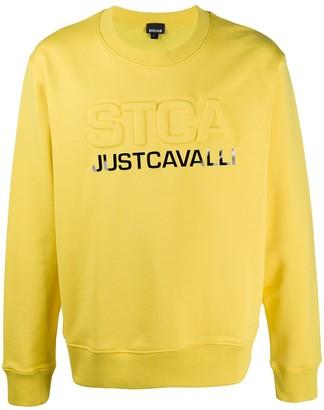 Just Cavalli Logo Print Jumper