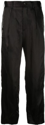 Comme des Garcons Straight Cut-Out Trousers