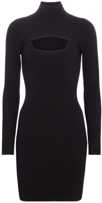 Jonathan Simkhai Corinna turtleneck knit minidress