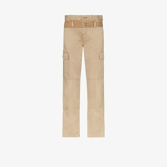 RtA Sallinger High Waist Cargo Trousers