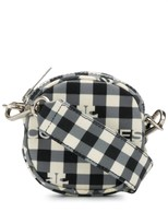 Courreges vichy-print crossbody bag