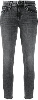 Rag & Bone Low-Rise Cropped Skinny Jeans