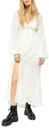 Free People Lisa Long Sleeve Maxi Dress