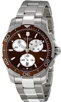 Victorinox Women's 241502 Brown Dial Chronograph Watch