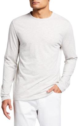 Vince Men's Slub Feeder Stripes T-Shirt