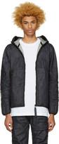 Raw Research Indigo Denim Strett Gymbag Jacket