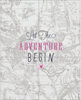 Dormify Let The Adventure Begin Print