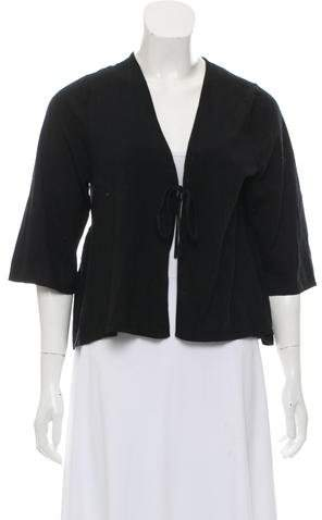 & Perry Wool Crop Cardigan w- Tags