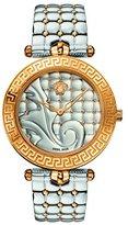 Versace Women's VK7230015 Vanitas Analog Display Swiss Quartz Two-Tone Watch
