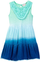 Design History Sleeveless Tiered Lace Ombre Dress (Toddler & Little Girls)