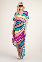 Trina Turk CATCH A WAVE MAXI DRESS