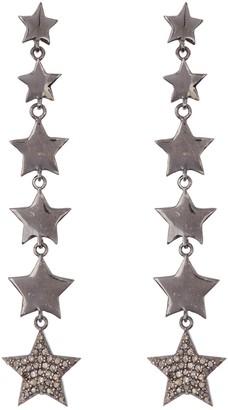 ADORNIA Diamond Star Drop Earrings - 0.70 ctw