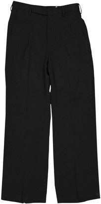 Rick Owens Black Wool Trousers