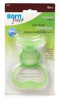 Born Free Summer Infant Born Free, Silicon Gum Brush Teether, 6 Months+ - Case of 6 - Each