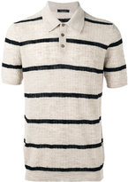 Roberto Collina polo top - men - Cotton/Linen/Flax/Polyester - 46