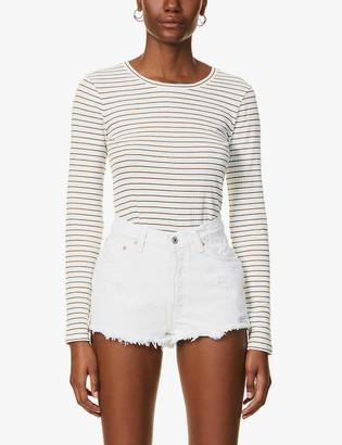 Levi's Pre-Loved Levis Authorised Vintage 501 distressed mid-rise denim shorts