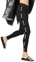 Ivy Park Women's Elastic Logo Mid Rise Leggings