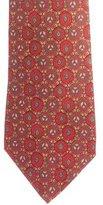 Hermes Silk Tile Print Tie