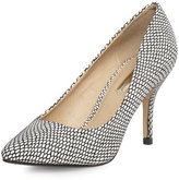 Dorothy Perkins Printed mid pointed court shoes