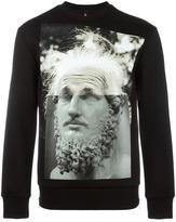 Neil Barrett modernist blocking sweatshirt - men - Polyurethane/Viscose - S