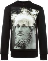Neil Barrett modernist blocking sweatshirt