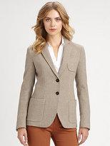 Armani Collezioni Classic Herringbone Jacket