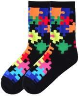 K. Bell K-Bell Jigsaw Puzzle Socks