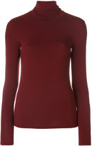 Majestic Filatures fitted roll neck top