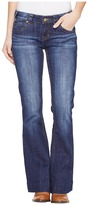 Rock and Roll Cowgirl Trousers Low Rise in Dark Wash W8-1401