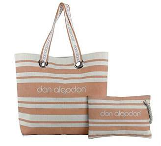 Don Algodon Beach Edition Women's Canvas and Beach Tote Bag,(W x H x L)