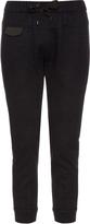 Brunello Cucinelli Slim-leg cashmere-knit track pants