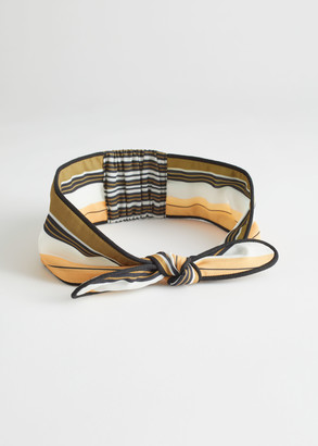 And other stories Knot Tie Scarf Headband