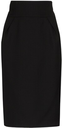 Alexandre Vauthier High-Waist Pencil Skirt