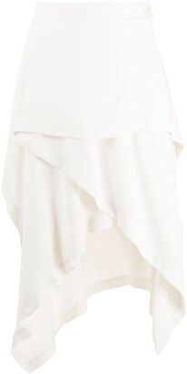 J.W.Anderson Handkerchief Asymmetric Skirt