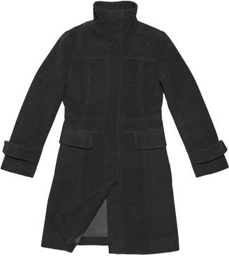 Et Vous Grey Wool Trench Coat for Women