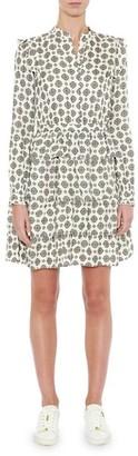 MICHAEL Michael Kors Lux Medallion Pindot Dress