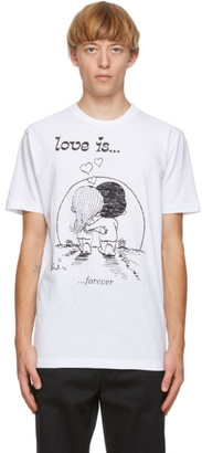 DSQUARED2 White Love Is... T-Shirt