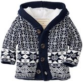 Baby Sherpa Lined Sweater Jacket