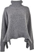 Aquilano Rimondi Curved Hem Sweater