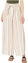 Vince Camuto Canyon Stripe Tie Front Linen Pants (Canyon Sunset) Women's Casual Pants