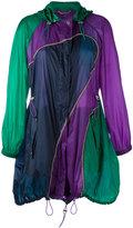 Versace Colour Curve mid-length coat