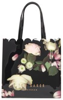Ted Baker Large Coracon Kensington Floral Tote - Black
