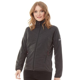 Berghaus Womens Spectrum 2.0 Micro Fleece Jacket Black/Black