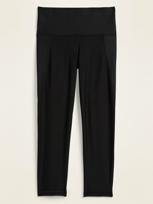 Old Navy High-Waisted Elevate Built-In Sculpt Crop Leggings for Women
