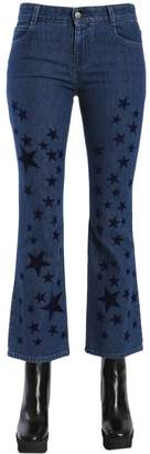 Stella McCartney Star Print Flared Jeans