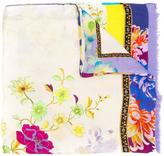 Etro multi printed scarf - women - Modal/Cashmere - One Size