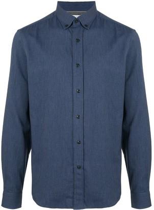 Brunello Cucinelli Denim-Look Twill Shirt