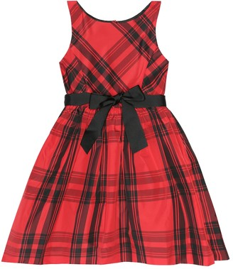 Polo Ralph Lauren Checked taffeta dress