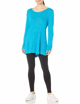 Hanes Women's Lightweight Spacedye Vented Tunic
